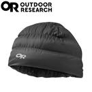 【Outdoor Research 美國 輕量透氣保暖羽毛帽《風暴灰》】243485/保暖帽/冬季帽