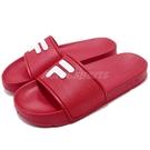 FILA 拖鞋 S316S 紅 白 復古...