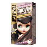 【美肌拉娜】富麗絲FRESHLIGHT染髮系列 巧克力棕(第一劑40g第二劑80ml)