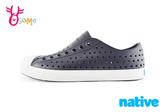 native JEFFERSON 奶油頭鞋 男女段 水鞋 洞洞鞋 K9464#黑色◆OSOME奧森童鞋