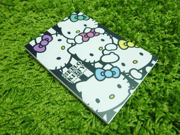 【震撼精品百貨】Hello Kitty 凱蒂貓~造型便條紙-直條多頭圖案【共1款】