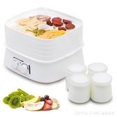 乾果機 酸奶機一體機家用食品烘乾機食物風乾機小型水果脫水機 YTL LannaS