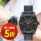 【雙11瘋搶5折! 】NIXON THE C39 LEATHER 時尚品味潮流腕錶 A459-010 現貨!