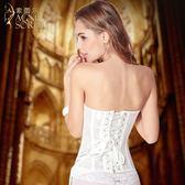 婚紗薄款塑身衣內衣美體束腰提臀塑上衣女