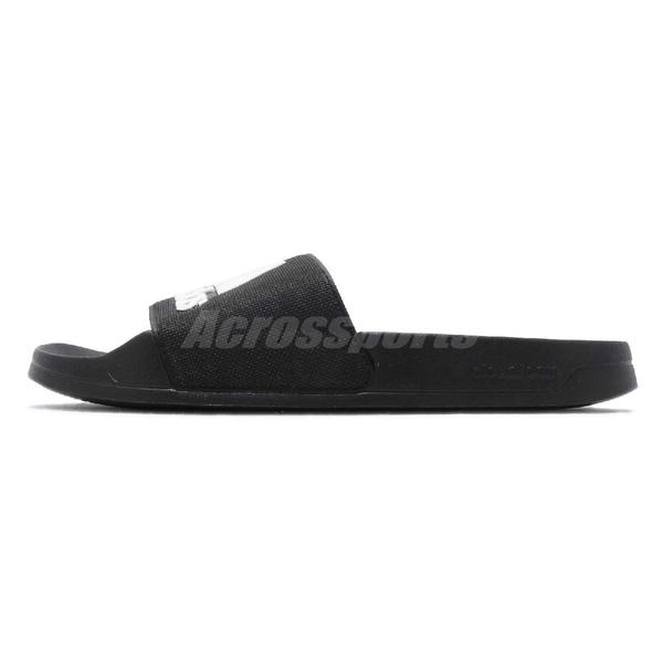 adidas 拖鞋 Adilette Shower 黑 白 運動拖鞋 男鞋 女鞋 涼拖鞋 舒適好穿【PUMP306】 F34770