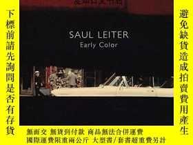 二手書博民逛書店【罕見】 Saul Leiter: Early Color 索爾