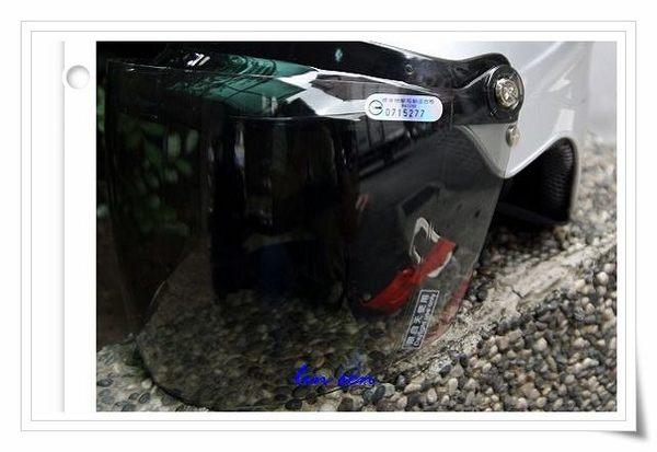 海鳥牌安全帽,雪帽,HR36專用淺黑鏡片