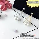 夾式耳環 現貨 韓國氣質設計感幾何三角形...