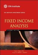 二手書博民逛書店 《Fixed Income Analysis》 R2Y ISBN:047005221X│Wiley