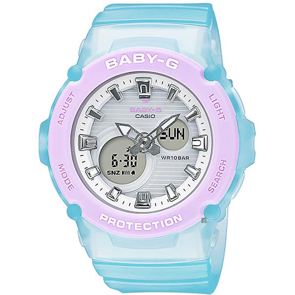 CASIO 卡西歐 Baby-G 果凍甜心手錶(BGA-270-2A)