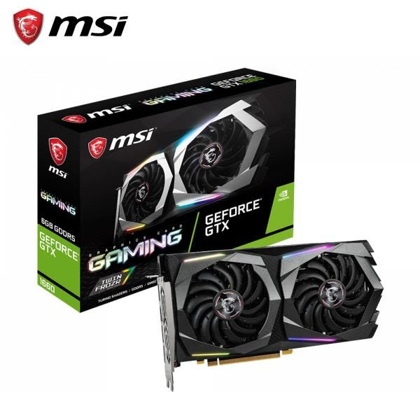 微星MSI GTX 1660TI GAMING X 6G PCI-E顯示卡