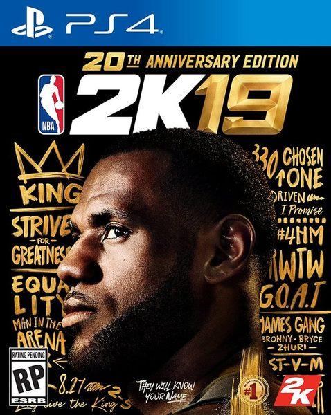 ★御玩家★預購9/7發售 PS4 NBA 2K19 20週年限定版 中英文合版