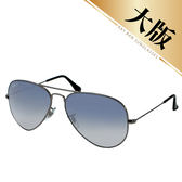 台灣原廠公司貨-【Ray-Ban雷朋】3025-004/78-62-偏光太陽眼鏡(漸層藍-大版)