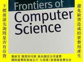 二手書博民逛書店Frontiers罕見of Computer Science 2