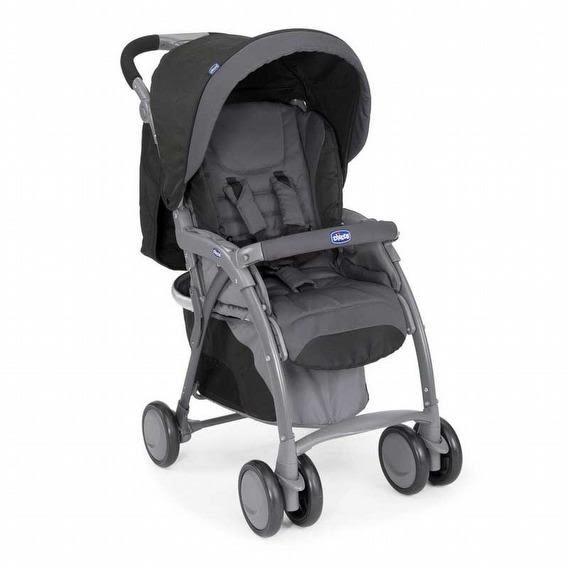Chicco SimpliCity 輕便推車/嬰兒推車(經典黑) 5380元