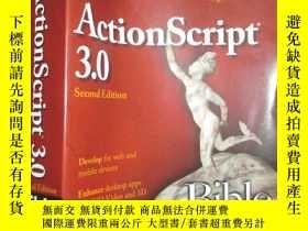 二手書博民逛書店ActionScript罕見3.0 Bible 【詳見圖】Y255351 Roger Braunstein W