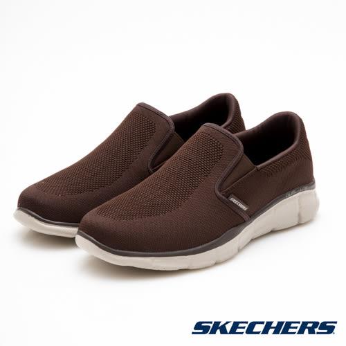 SKECHERS (男) 時尚休閒系列 EQUALIZER - 51547CHOC