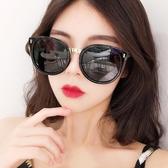 年新款gm墨鏡女ins韓版潮圓臉大臉偏光太陽眼鏡防紫外線顯瘦 雙12購物節