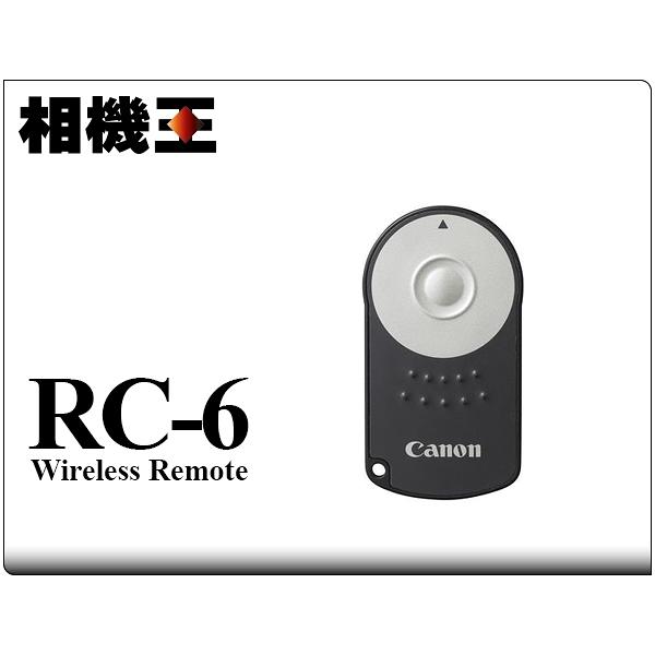 Canon RC-6 RC6 原廠遙控器﹝6D 70D 100D 650D 700D EOS M適用﹞