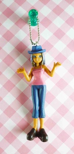 【震撼精品百貨】NEO LICCA麗卡~鑰匙圈吊飾-牛仔帽