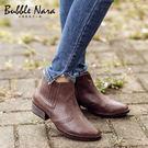 短靴-騎士旅人復古短靴。Bubble N...