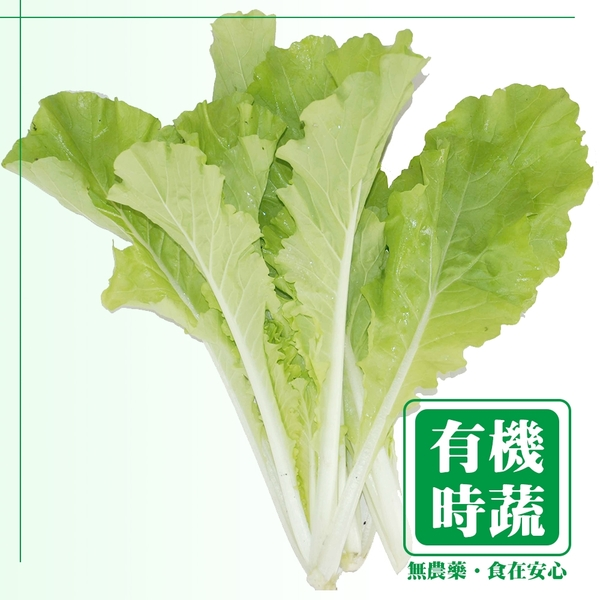 【有機認證生鮮時蔬】小白菜 ( 250g /包)
