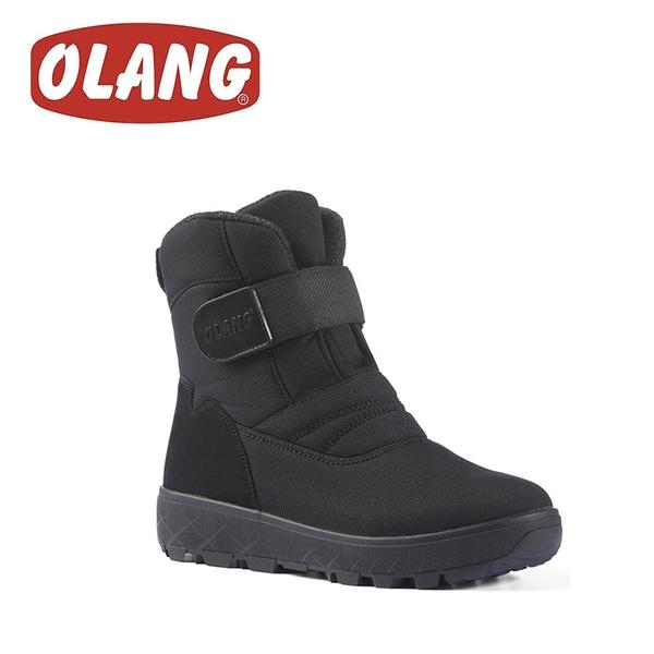 【OLANG 義大利 KIEV.OC OLANTEX 防水雪靴《黑》】1581/保暖/滑雪/雪地