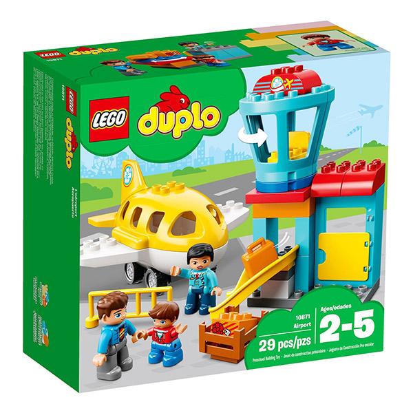 【愛吾兒】LEGO 樂高 duplo得寶系列 10871 機場