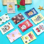 韓國創意趣味零食餅干可愛拉鏈零錢包女學生迷你簡約硬幣包零錢袋