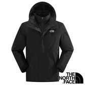 【THE NORTH FACE 美國】男 兩件式GT羽絨外套『黑』NF00CTS2 保暖外套 兩件式外套 GORE-TEX