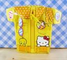 【震撼精品百貨】小黃鳥崔西_Tweety-KITTY聯名款-零錢包-衣服造型-黃