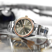 SEIKO 精工 / 6N53-00A0N.SUR344P1 / 簡約時尚 藍寶石水晶玻璃 日期 防水100米 不鏽鋼手錶 鈦色 40mm