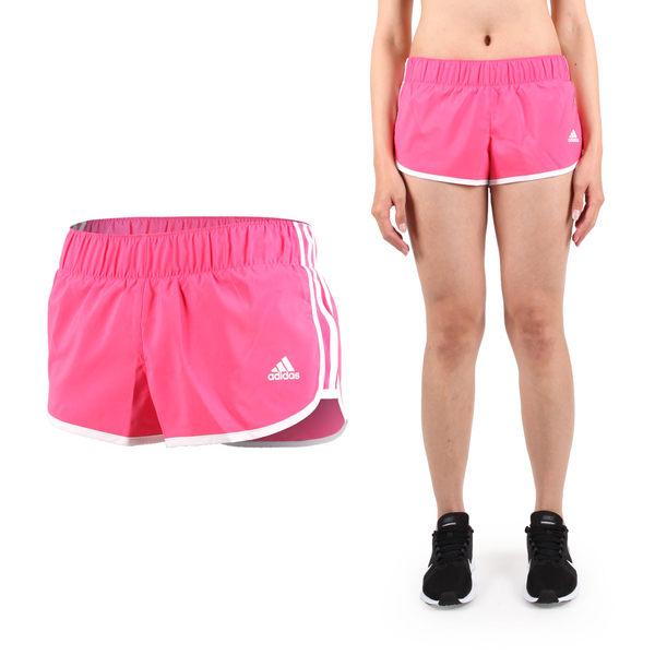 ADIDAS 女運動短褲 (慢跑 路跑 訓練 三分褲 愛迪達 免運 ≡排汗專家≡