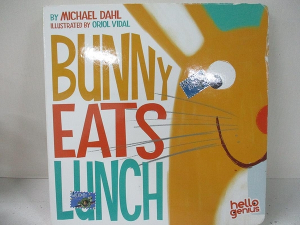 【書寶二手書T1/少年童書_EGB】Bunny Eats Lunch_Dahl, Michael/ Vidal, Oriol (ILT)