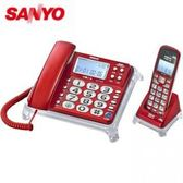 【DCT-8915】三洋 2.4 GHz 數位無線親子機 SANYO DCT-8915  紅  (來去電報號)