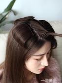 真髮墊髮片 蓬鬆假髮片女無痕迷你隱形假髮 逼真兩側墊髮根增髮量  一米陽光