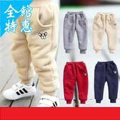 嬰兒長褲童裝女童秋冬褲子男童加絨棉褲1-2-3-4-5歲小童嬰兒男寶寶加厚保暖褲