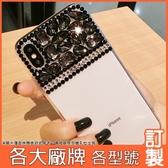 ZenFone6 ZS630KL 小米9 紅米Note7 Y7 pro Mate20 Pro 華為 nova 3i 貴氣黑鑽殼 手機殼 水鑽殼 訂製 DC