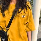 2021年夏季新款早秋情侶閨蜜女裝半袖上衣服ins大碼寬鬆短袖t恤潮 【端午節特惠】