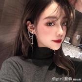 高級感時尚星星耳釘流蘇耳掛女韓國氣質網紅耳飾耳環2020新款潮 雙12狂歡購