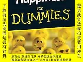 二手書博民逛書店Happiness罕見For Dummies[傻瓜書-如何獲得快