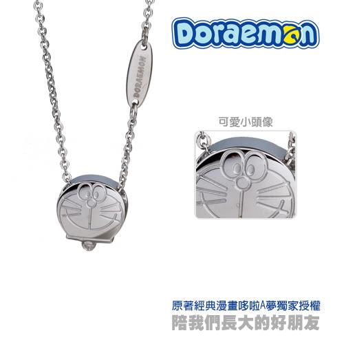 甜蜜約定 Doraemon 好夢成真哆啦A夢 白鋼項鍊