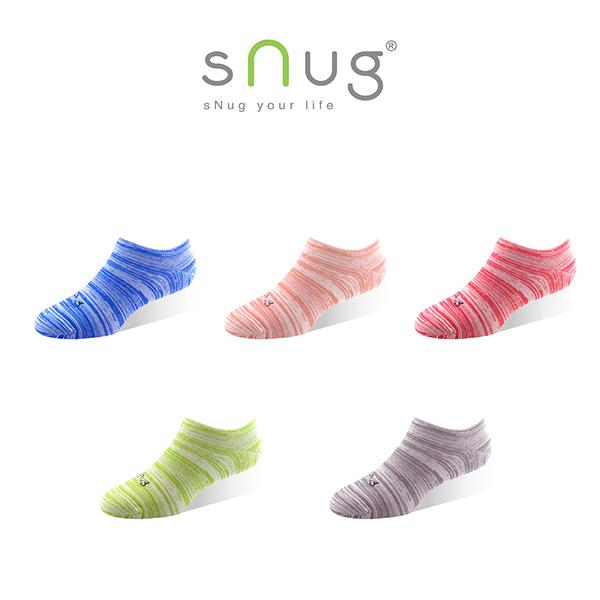 ★任選6件 結帳8折【sNug】繽紛時尚船襪 (除臭襪/船型襪/短襪)