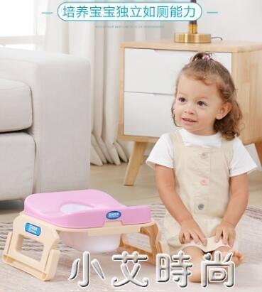 兒童蹲便器蹲坑家用訓練蹲廁所改坐便器便攜摺疊馬桶男女寶寶輔助 NMS小艾新品