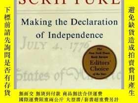 二手書博民逛書店American罕見Scripture:Making the Declaration of Independenc