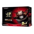 【G7】 2合1即溶咖啡 x 2盒(16g*15包/盒) ~可做冰咖啡(已加糖)