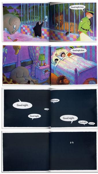 【幼兒睡前故事書】GOODNIGHT GORILLA  / 硬頁書 (中譯: 大家,晚安!)