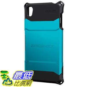 [現貨1個] ELECOM Xperia Z3 藍色 手機殼 保護殼 ZEROSHOCK PM-SOZ3ZEROBU  A107dd