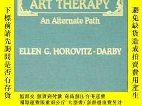 二手書博民逛書店Spiritual罕見Art Therapy: An Alter
