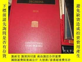 二手書博民逛書店CONSTITUTIONAL罕見COURT DECISIONS2